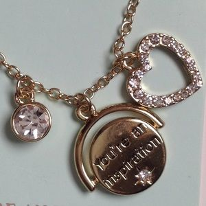 Jewelry - Love you mom pendant/necklace, FREE gift (c pic)